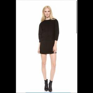 TIBI sweater dress patchwork XS